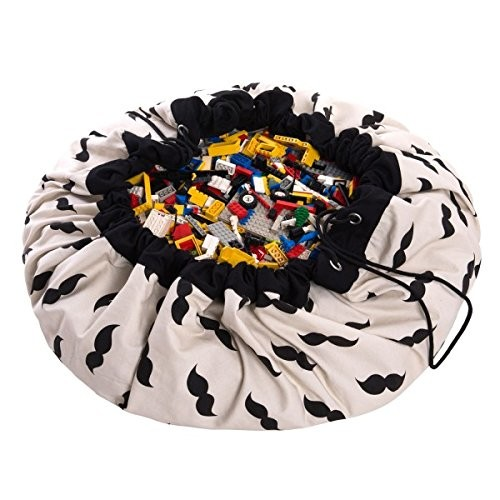 Play and Go - Sac de rangement/ Tapis de jeu Moustache