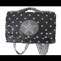 Cartable Stars Gris