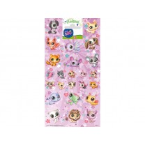 Autocollants Stickers Littlest Pet Shop