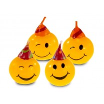 Bougies mini-figurines Smiley