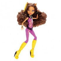 Monster High Poupée Festival Music Clawdeen Wolf