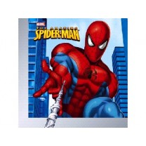 Nappe Spiderman bleu