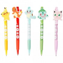POKEMON 5 Stylos personnages