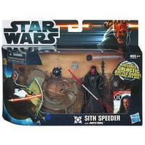 Star Wars - Speeder sith de Darth Maul