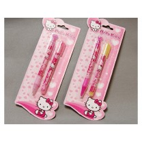 Stylo et son fluo Hello Kitty