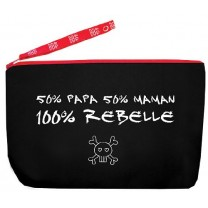 "Trousse ""100% Rebelle"""